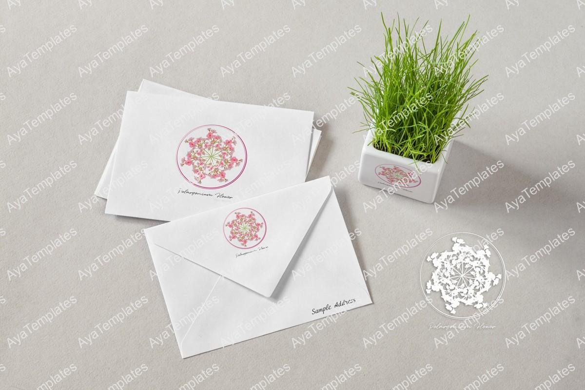 Pelargonium-logo-design-branding-mockup-ayatemplates