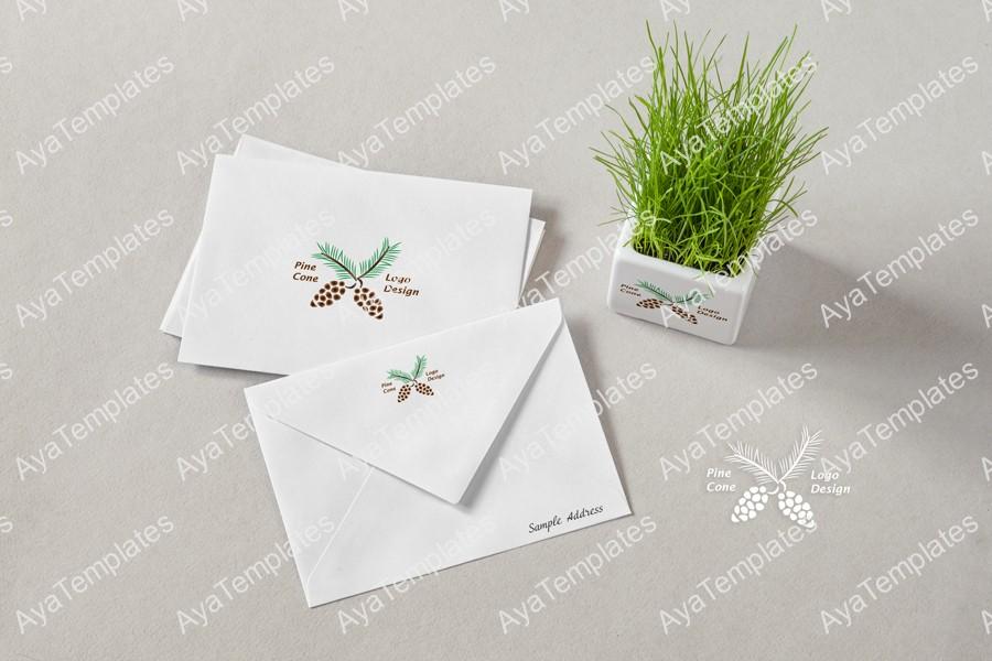 Pine-Cone-logo-design-mockup-branding-ayatemplates