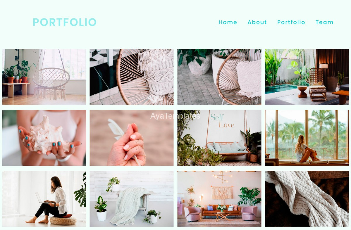 Portfolio-onepage-website-template-gallery-layout-ayatemplates