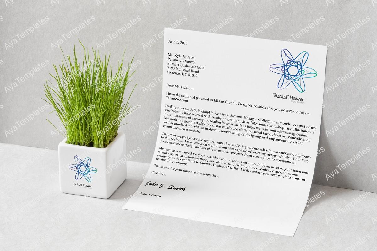 Rabbit-flower-logo-brand-mockup-ayatemplates