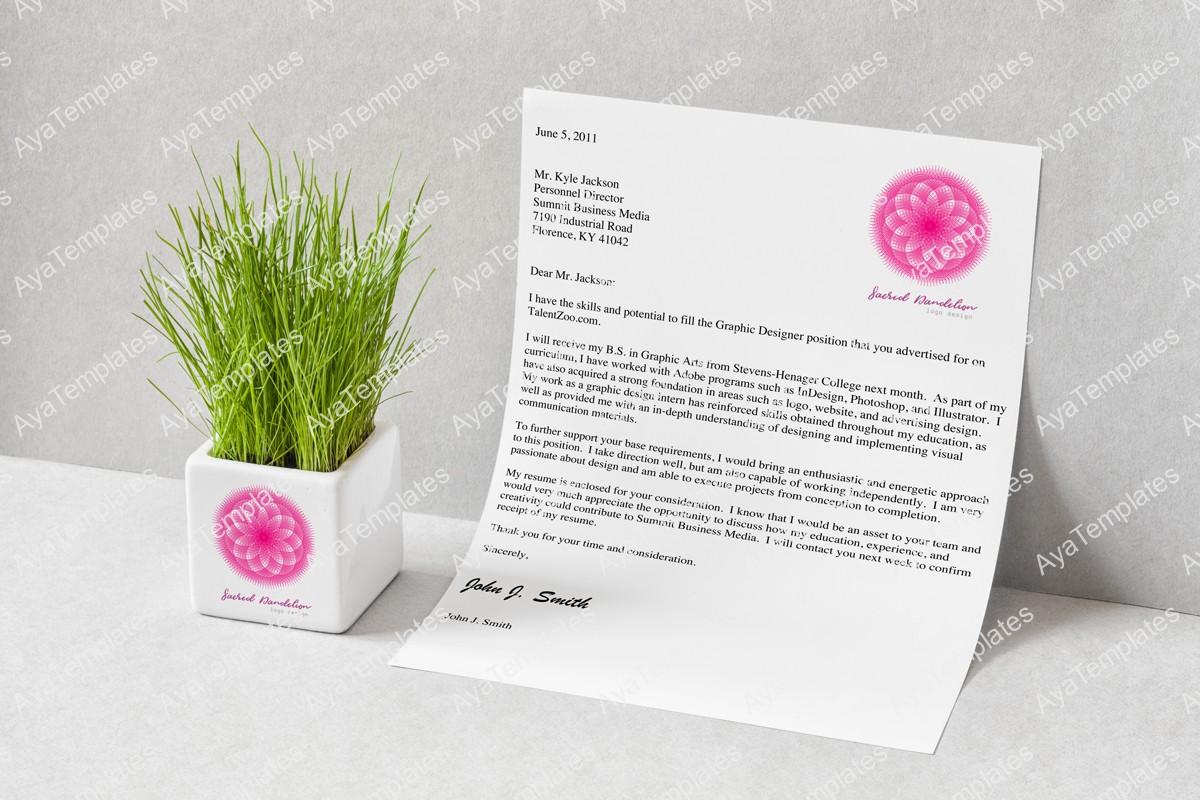 Sacred-Dandelion-flower-logo-design-brand-mockup---aya-templates