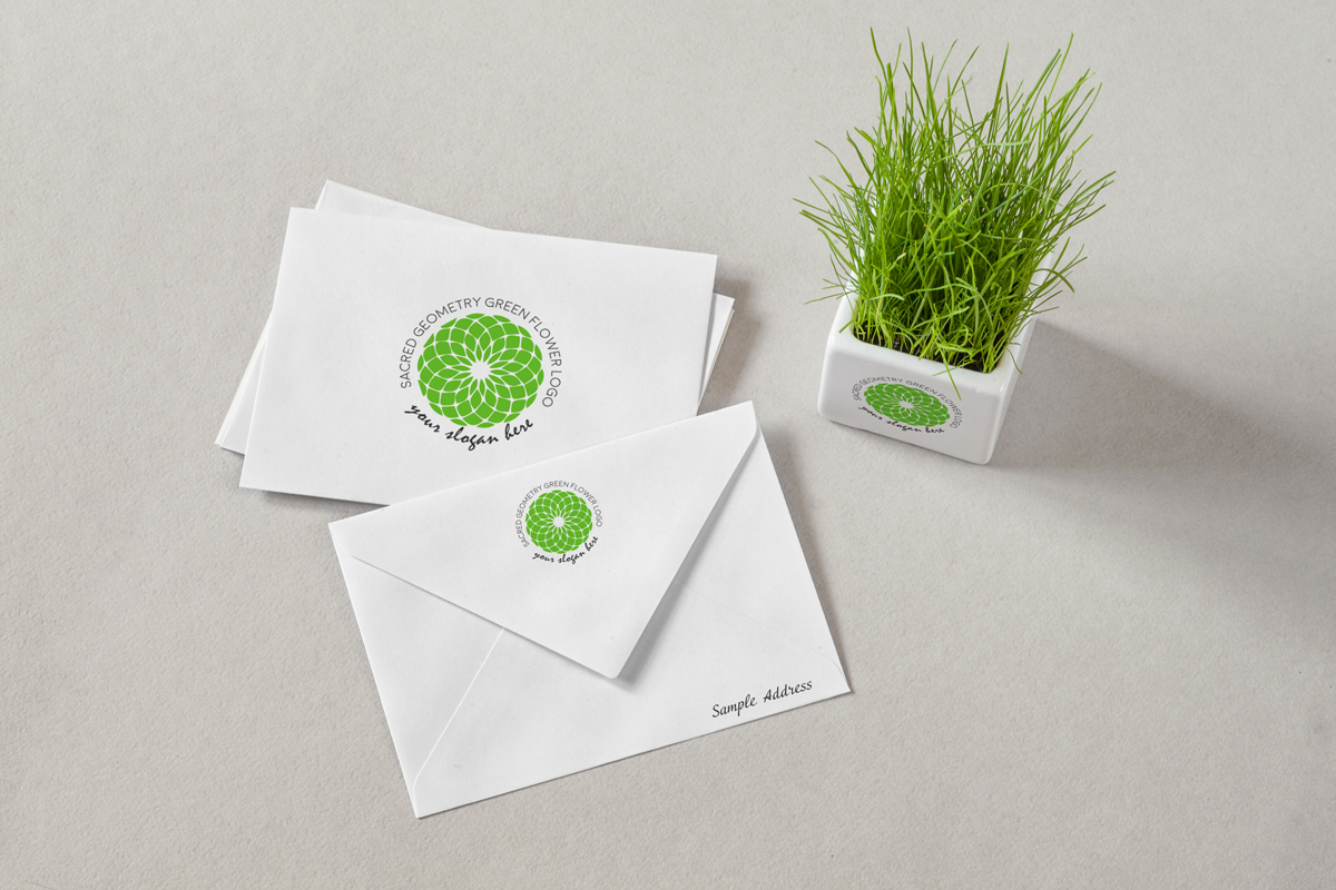 Sacred-Geometry-Green-flower-logo-product-image-mockup2
