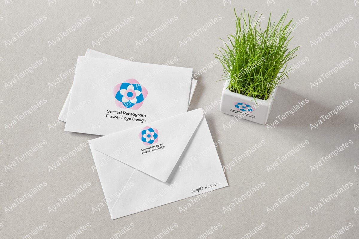 Sacred-Pentagram-Flower-Logo-Design-logo-and-brand-identity-design-mockup2