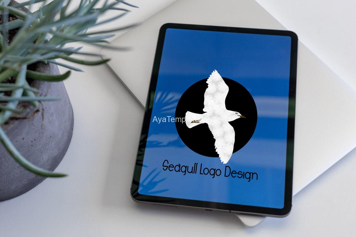 Seagull-logo-design-mockup-ayatemplates