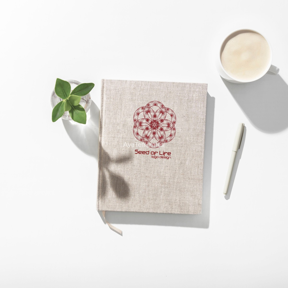 Seed-of-life-logo-design-mockup-brand-identity