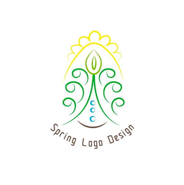 Spring-Logo-Design-product-image