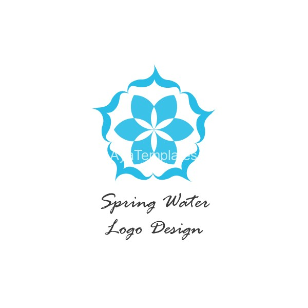 Spring-Water-logo-design