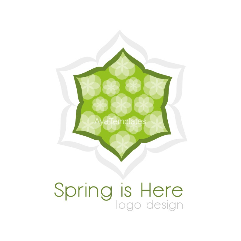 Spring-is-here-logo-design