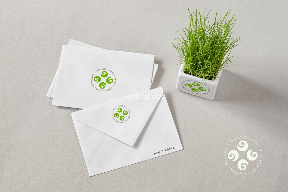 Spring-logo-design-brand-identity-mockup---ayatemplates