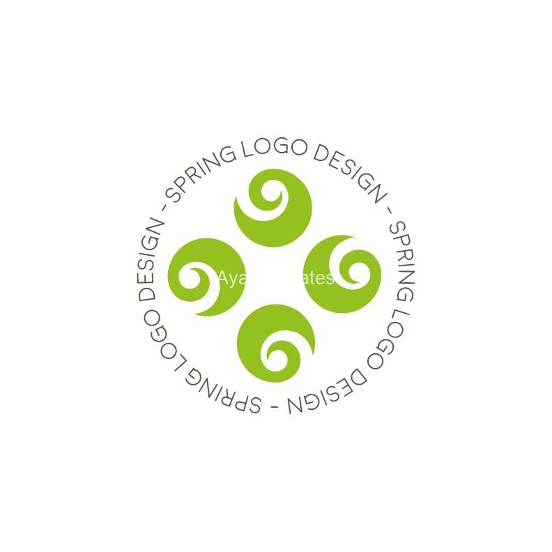 Spring-logo-design