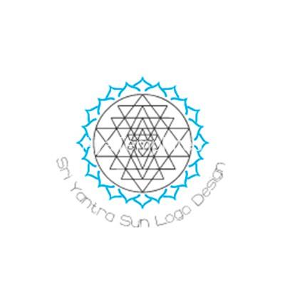 Sri-Yantra-Sun-Logo-Design