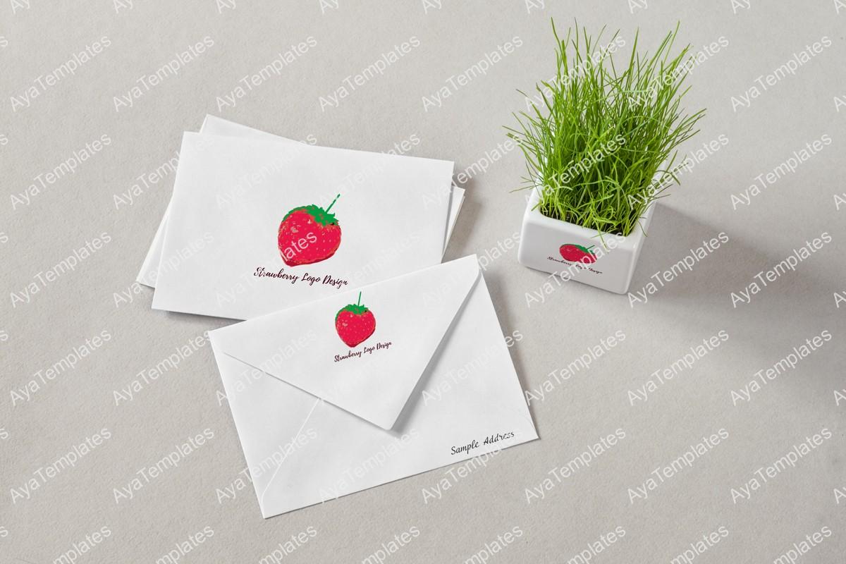 Strawberry-logo-design-branding-mockup-aya-templates
