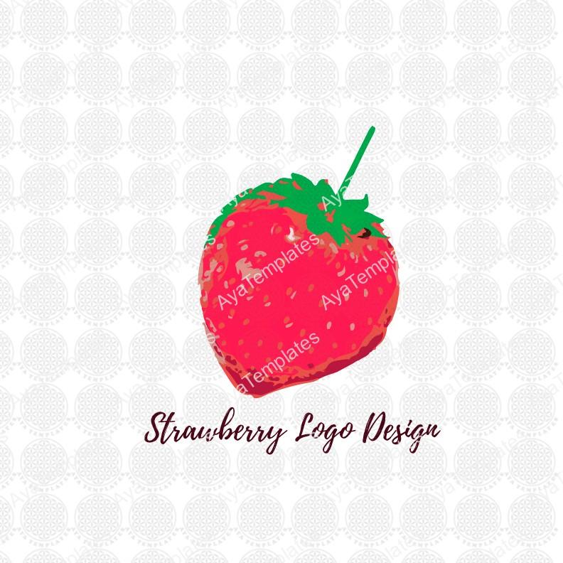 Strawberry-logo-design