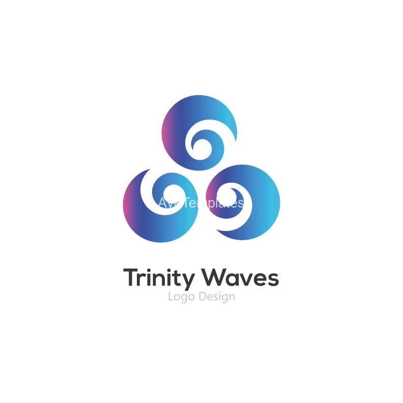 Trinity-Waves-logo-design