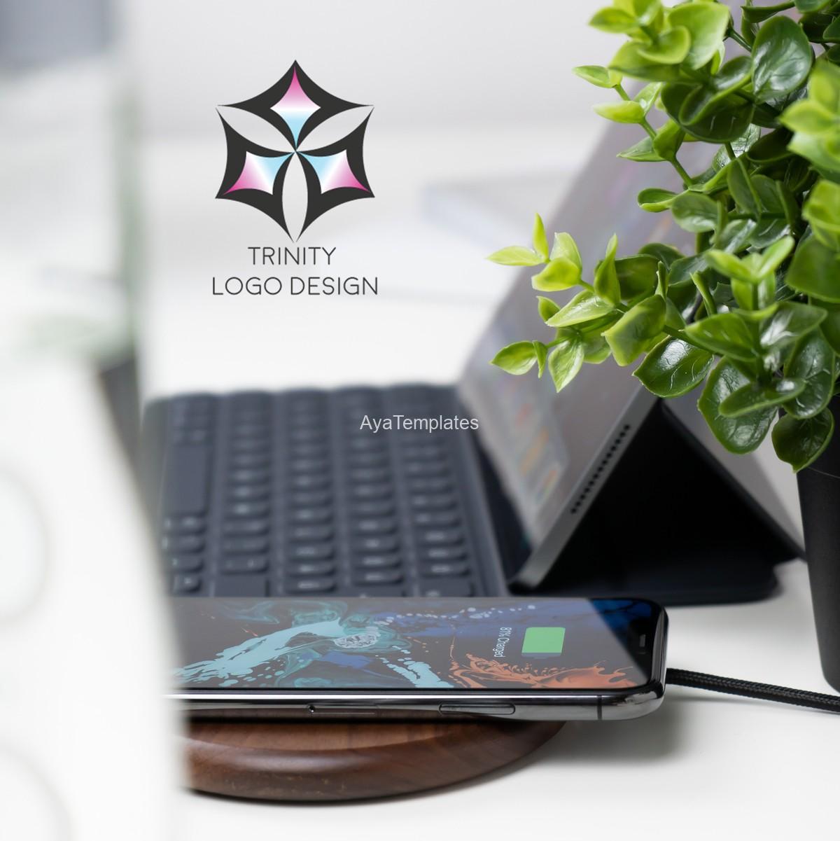 Trinity-logo-design-and-brand-identity-mockup