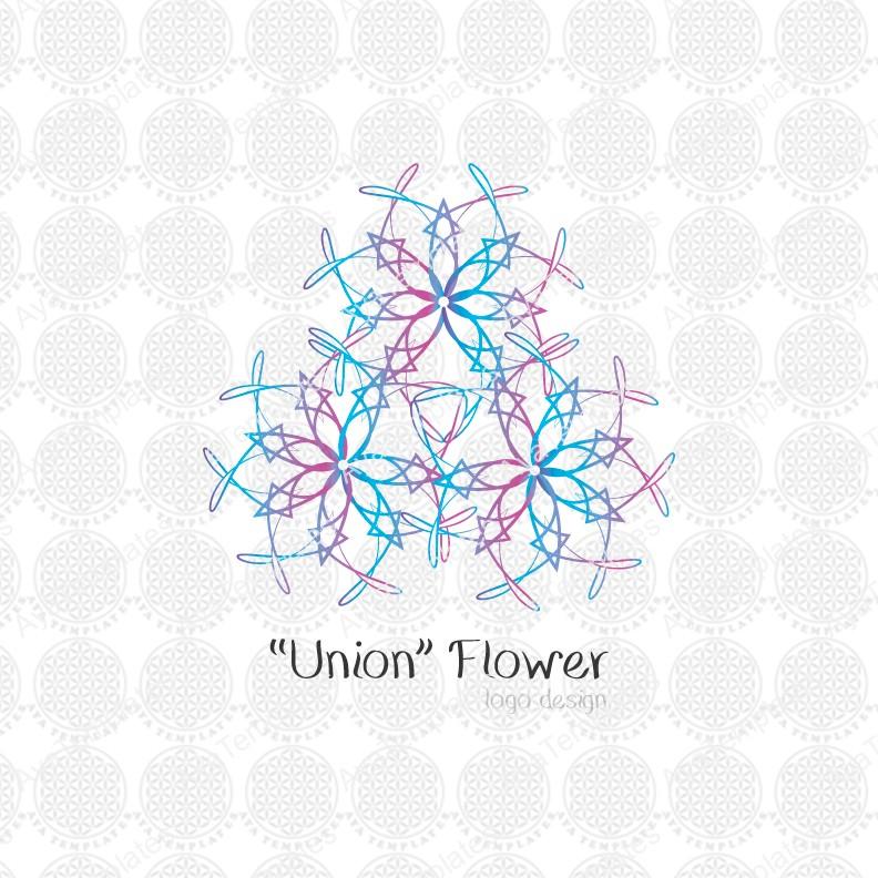 Union-flower-logo-design