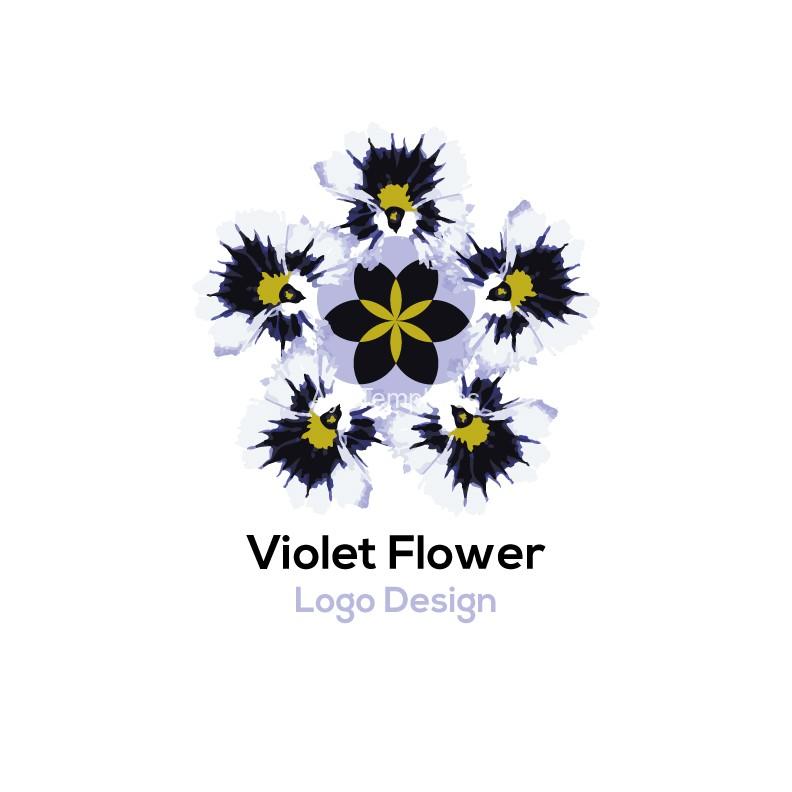 Violet-logo-design