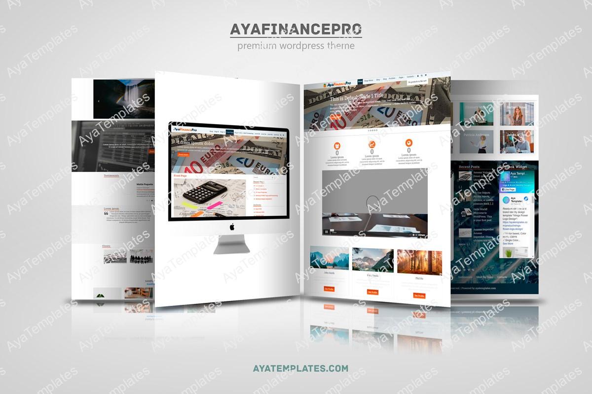 Web-Pages-Presentation-Mock-Up-AyaFinancePro-premium-wp-theme
