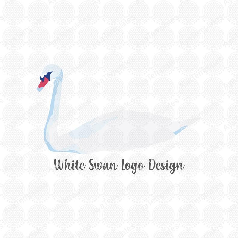 White-Swan-logo-design
