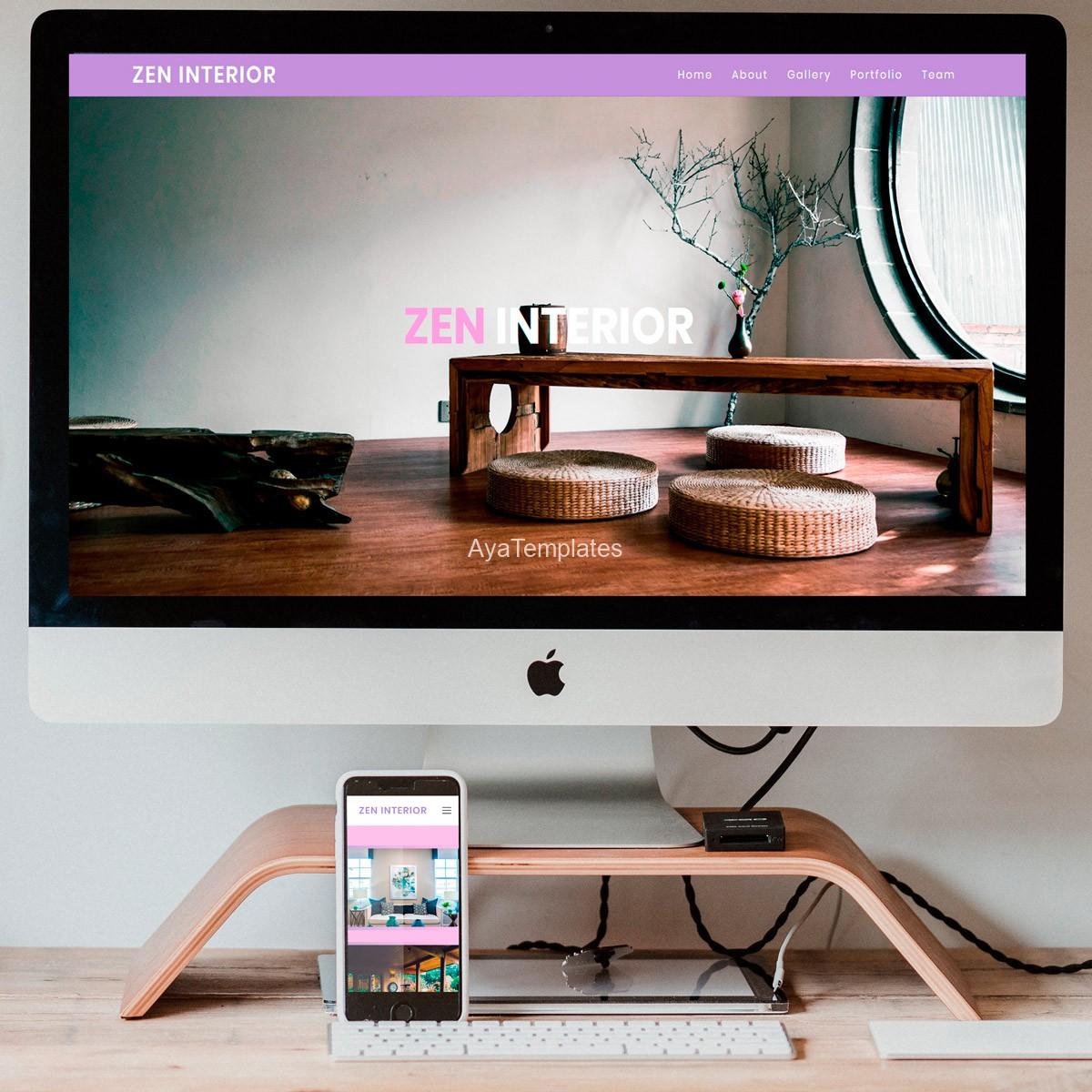 Zen-interior-responsiveness-mockup-ayatemplates