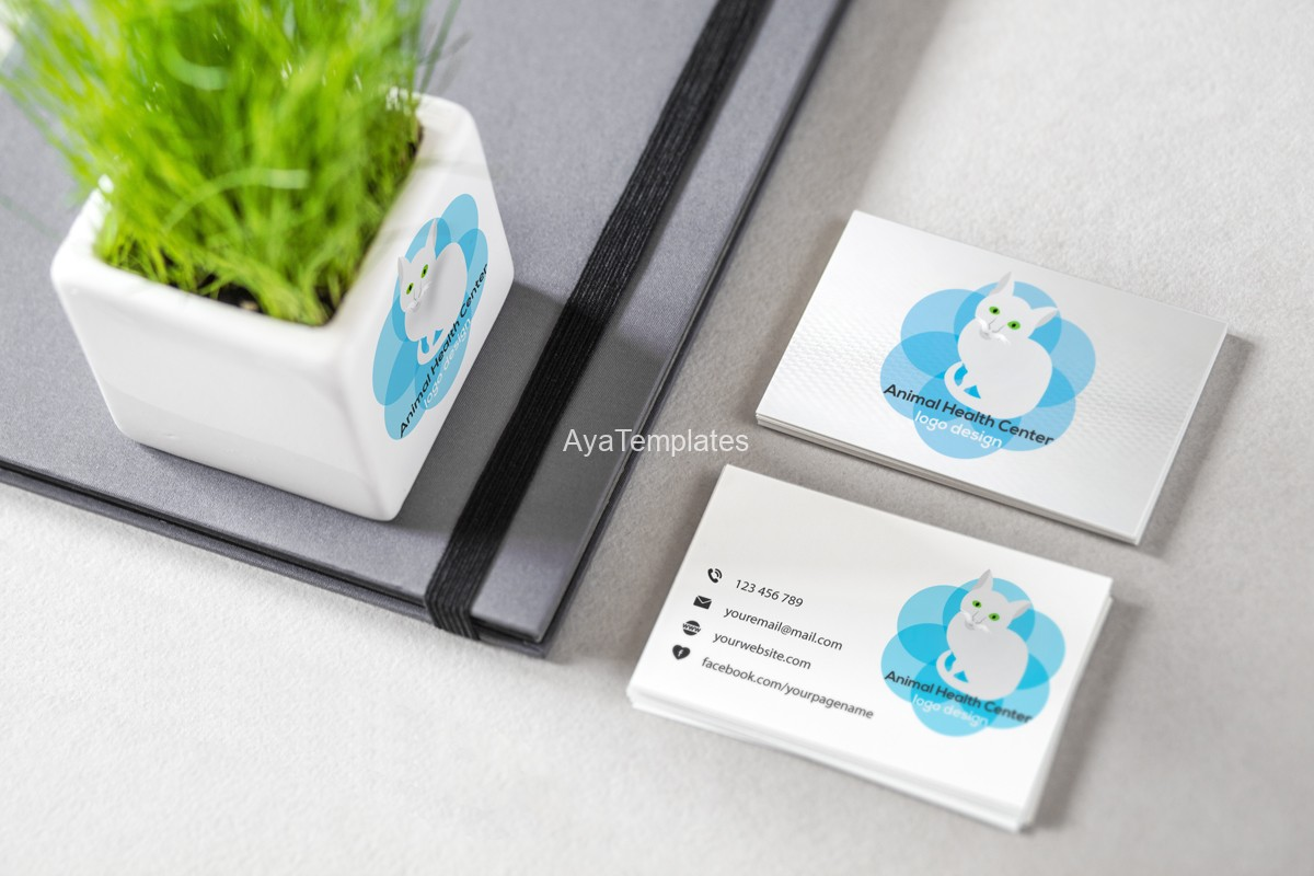 animal-health-center-logo-brand-identity-mockup-business-cards-ayatemplates