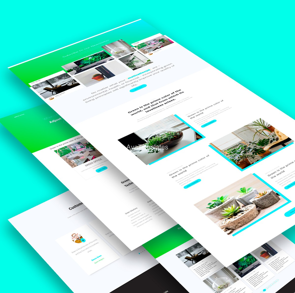 aya-green-office-bootstrap