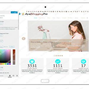 ayabloggingpro-customize-colors