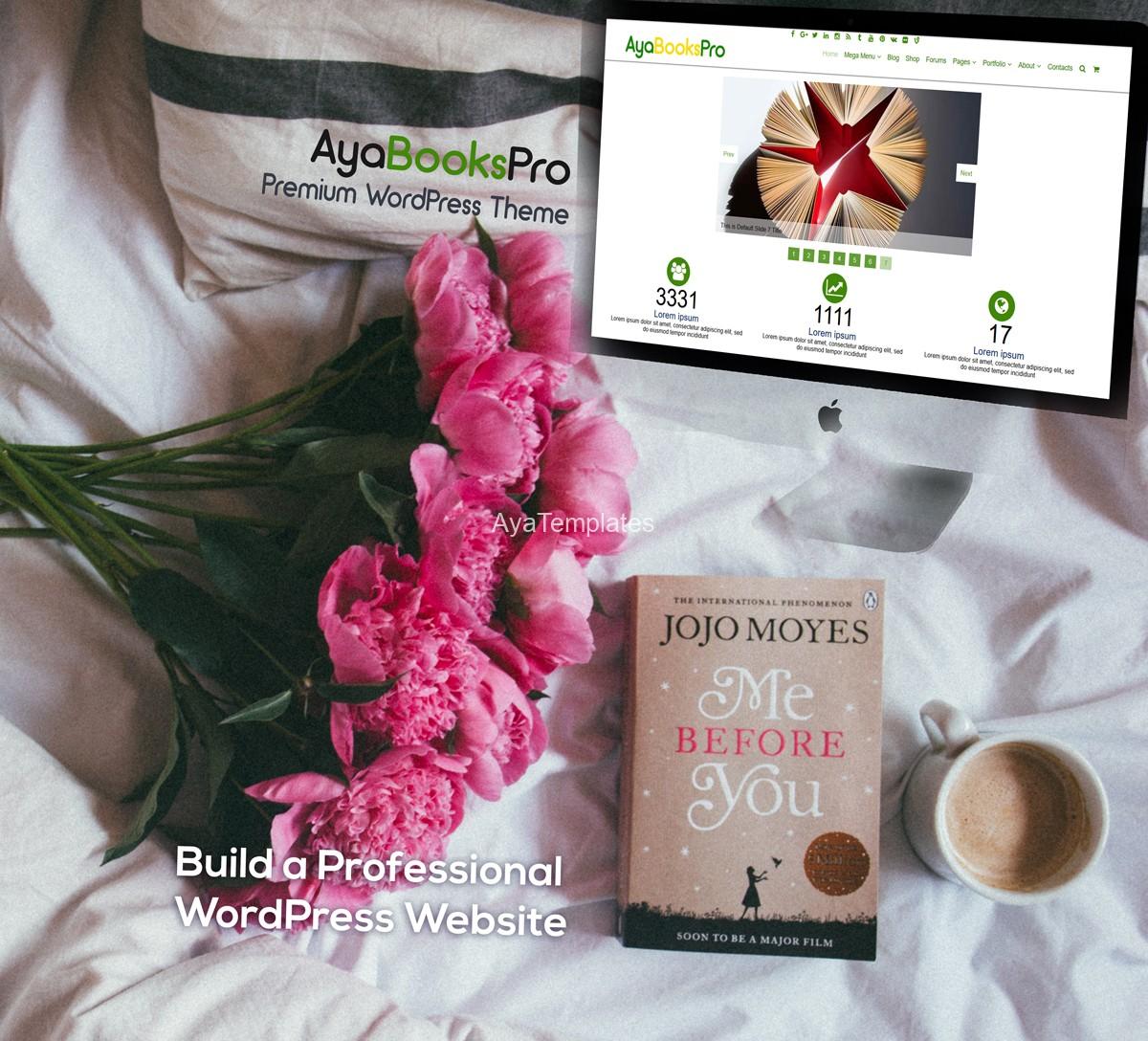 ayabookspro-premium-wordpress-theme-mockup