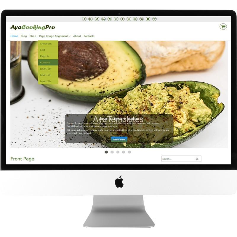 ayacookingpro-premium-wordpress-theme-desktop-mockup-ayatemplates