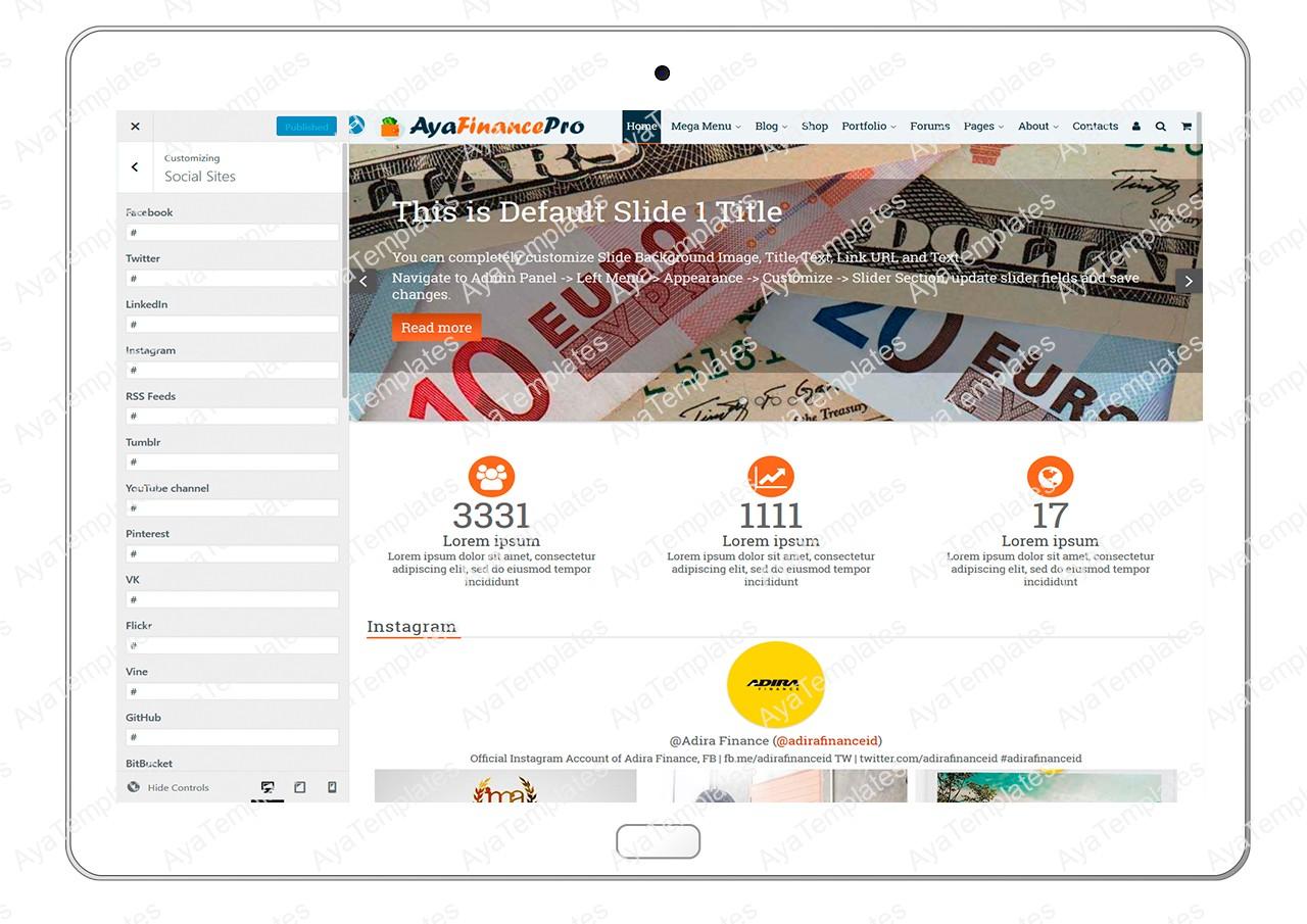 ayafinancepro-customizing-social-sites
