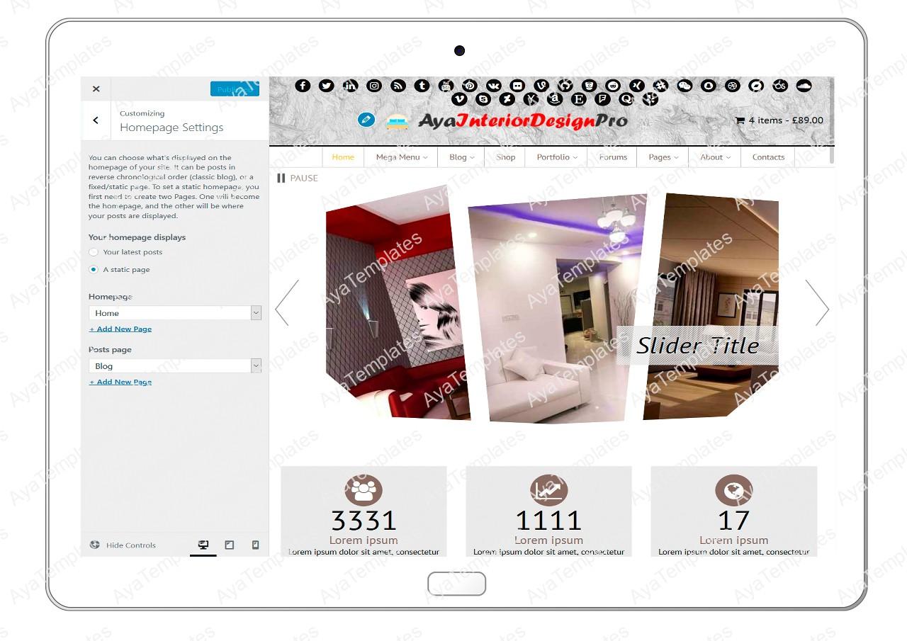 ayainteriordesignpro-customizing-homepage-settings