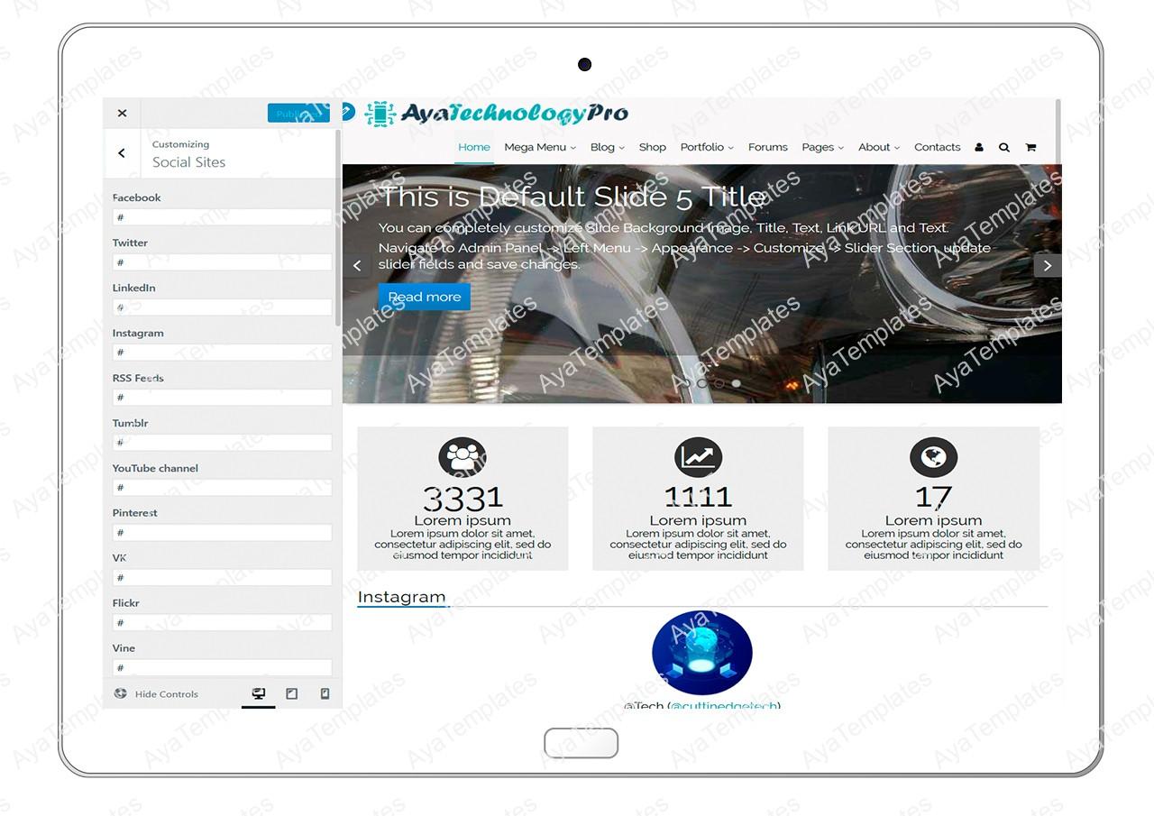 ayatechnologypro-customizing-social-sites