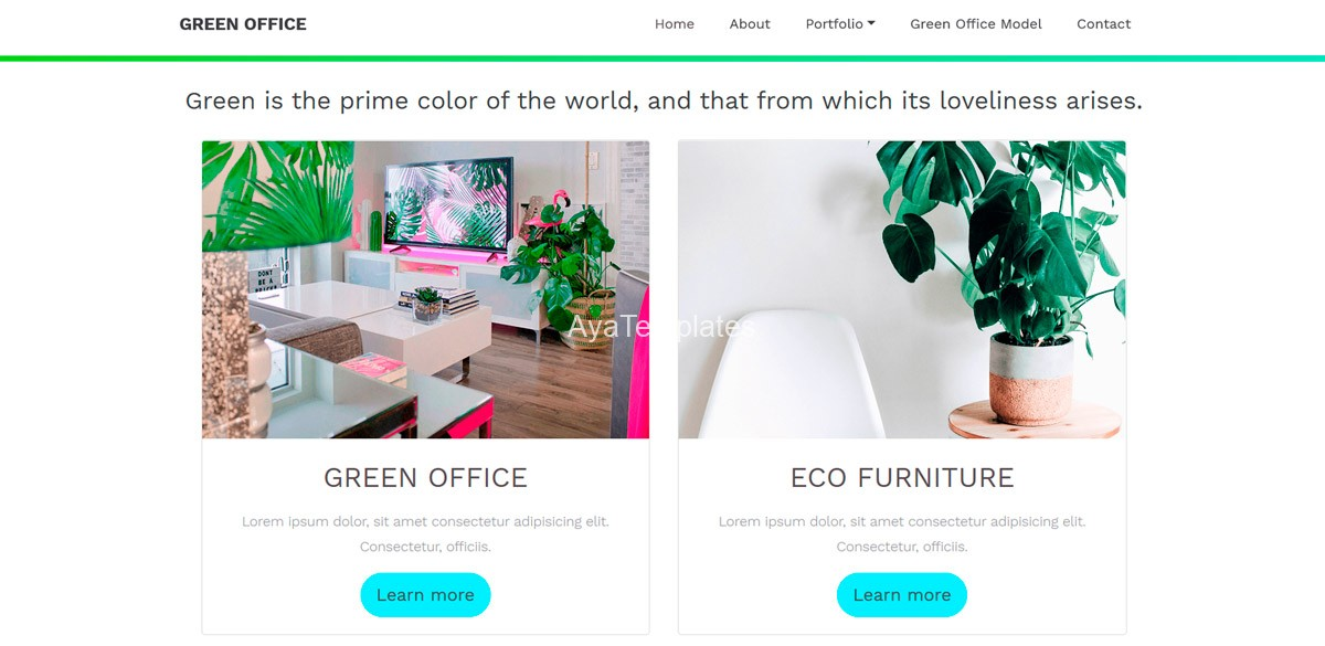 ayatemplates-green-office-bootstrap-2