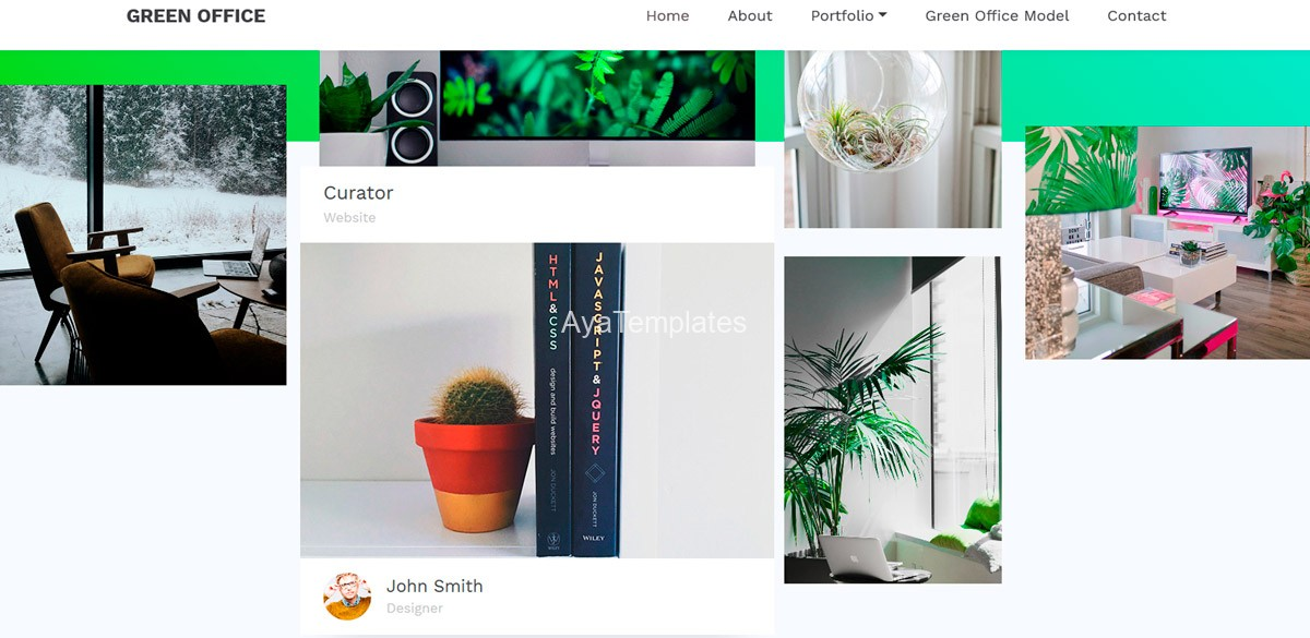 ayatemplates-green-office-bootstrap-5