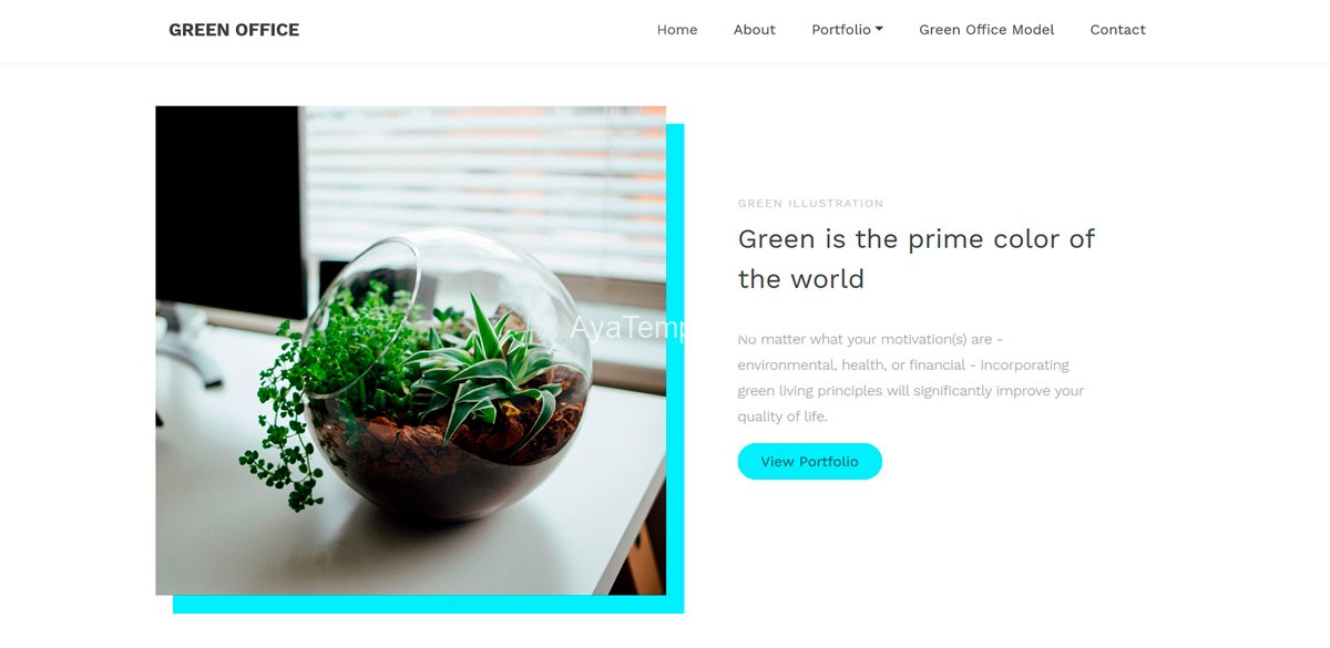 ayatemplates-green-office-bootstrap-6