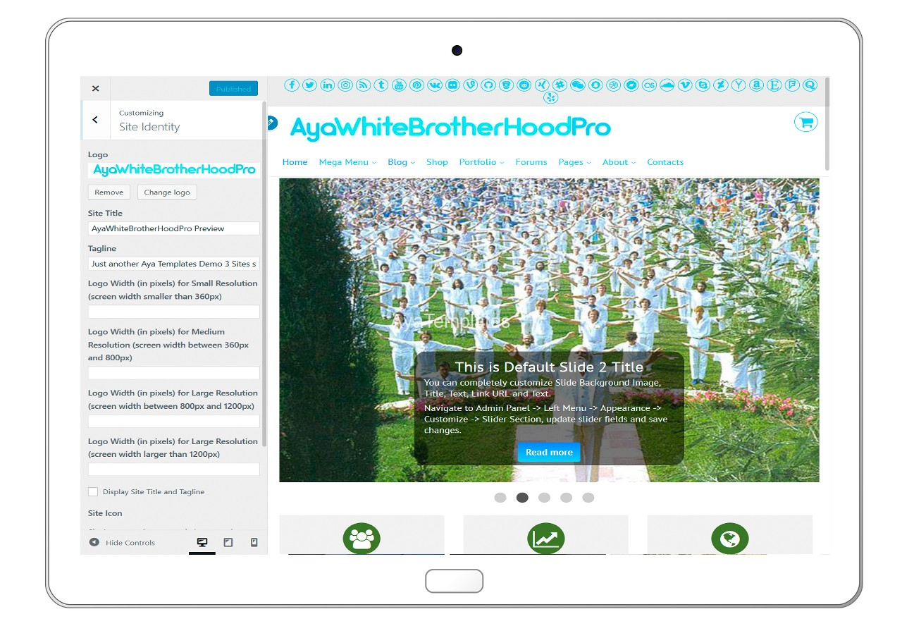 ayawhitebrotherhoodpro-customizing-site-identity