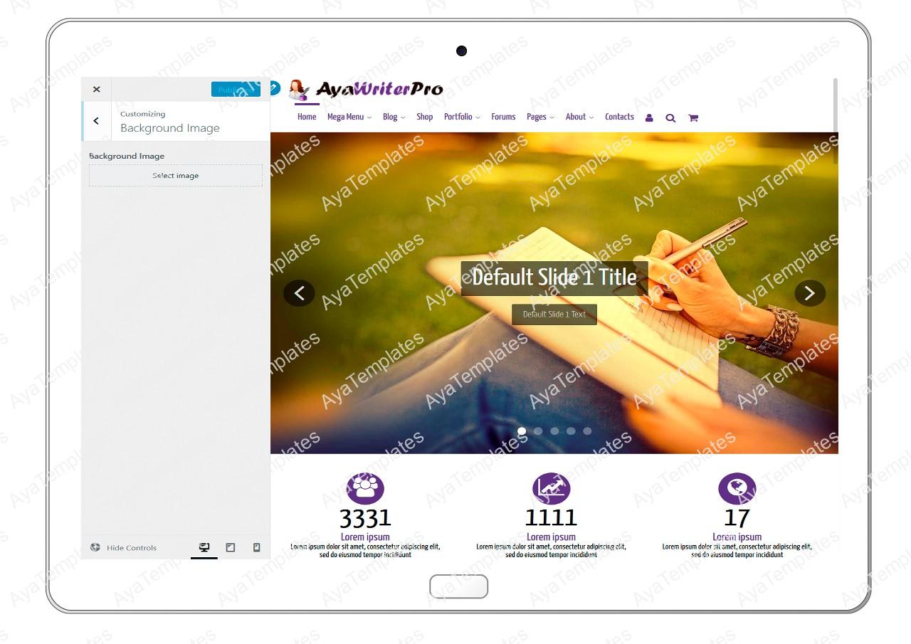 ayawriterpro-customizing-background-image