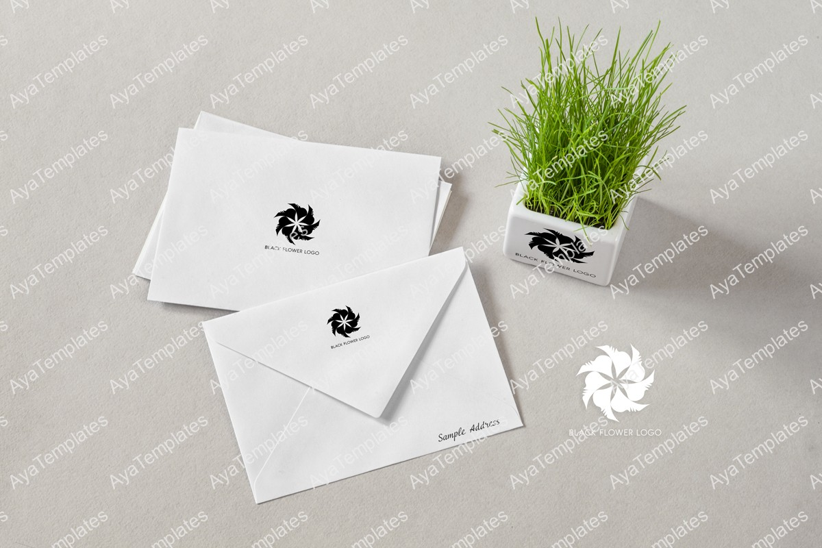 black-flower-logo-design-branding-mockup1-ayatemplates