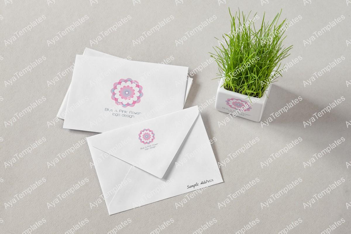 blue-pink-flower-logo-and-brand-identity-design-mockup2