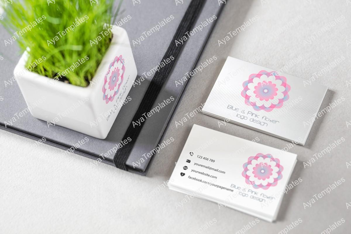 blue-pink-flower-logo-and-brand-identity-design-mockup3