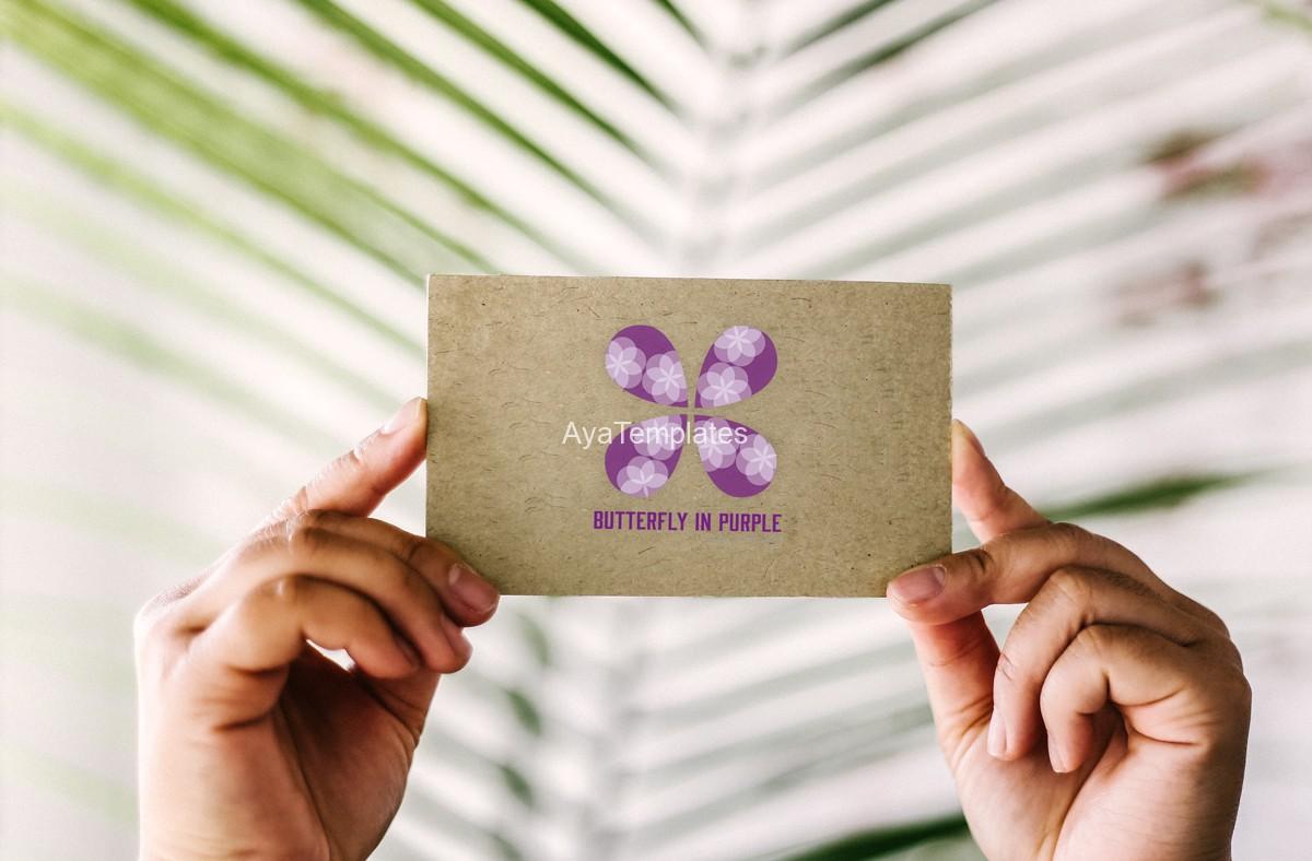business-card-logo-branding-mockup-butterfly-logo-design