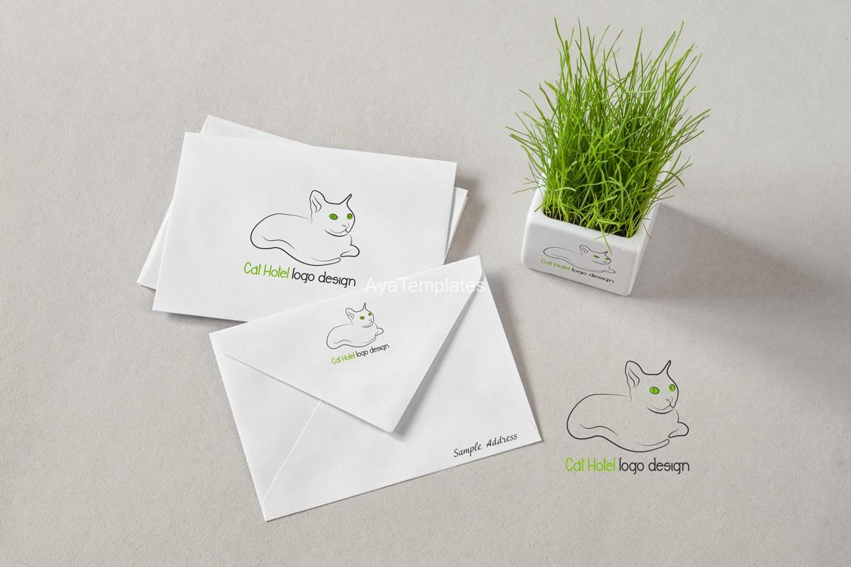 cat-hotel-logo-design-mockup-branding-ayatemplates