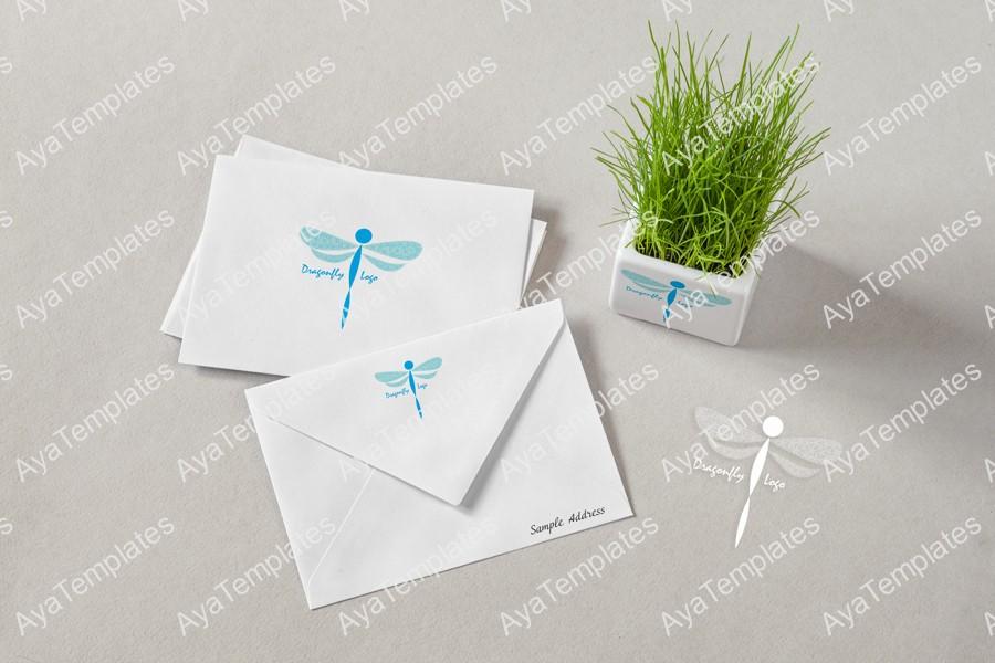 dragonfly-logo-branding-ayatemplates-mockup1