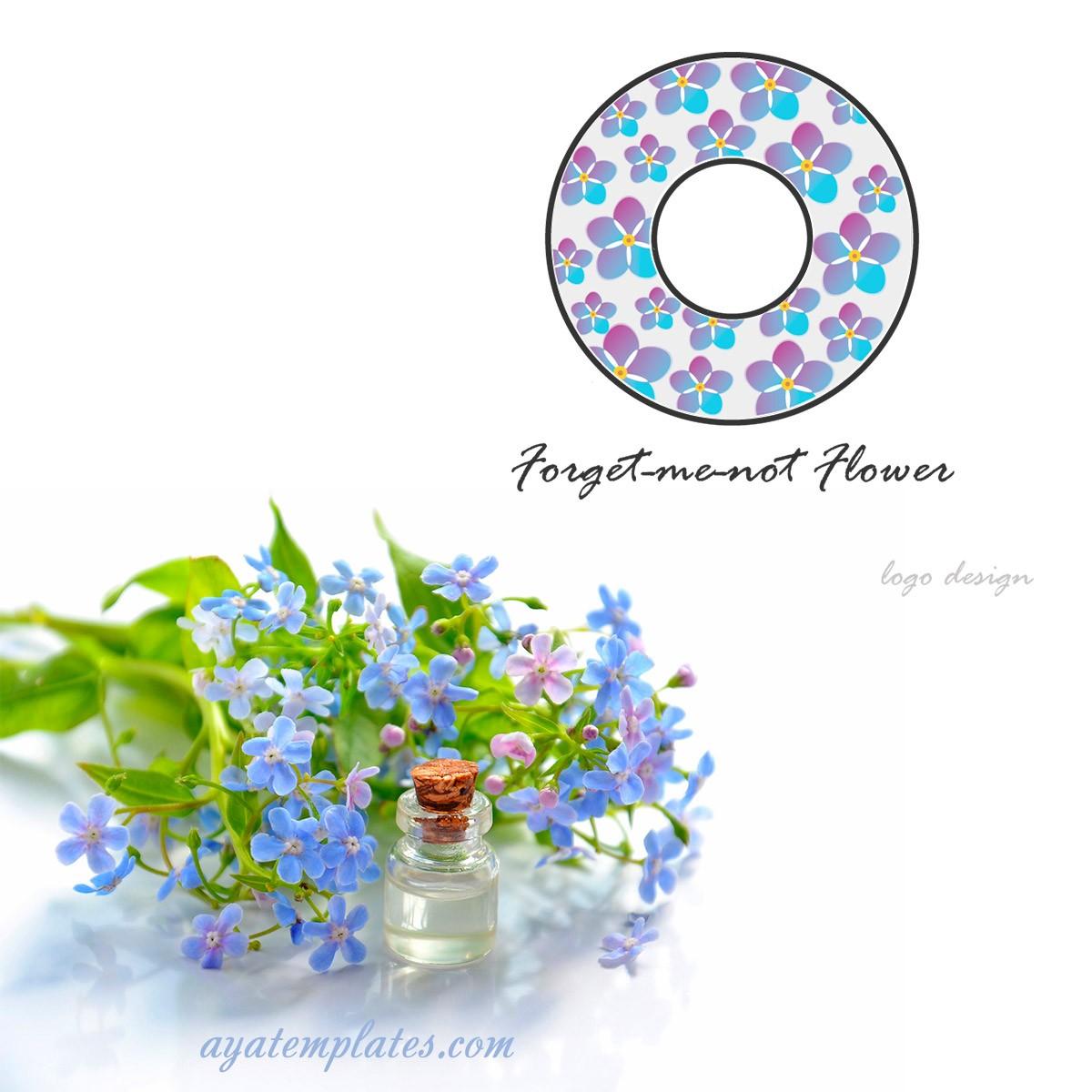forget-me-not-flower-logo-design-mockup-ayatemplates