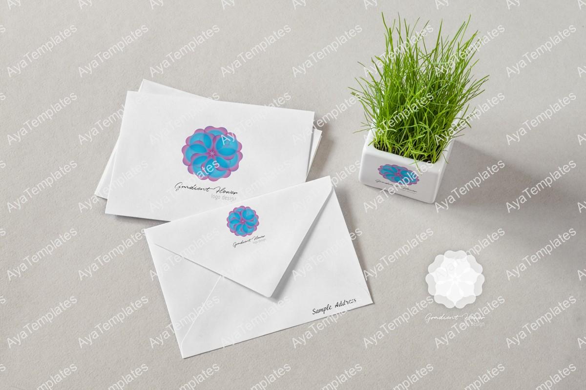 gradient-flower-logo-design-branding-mockup-aya-templates
