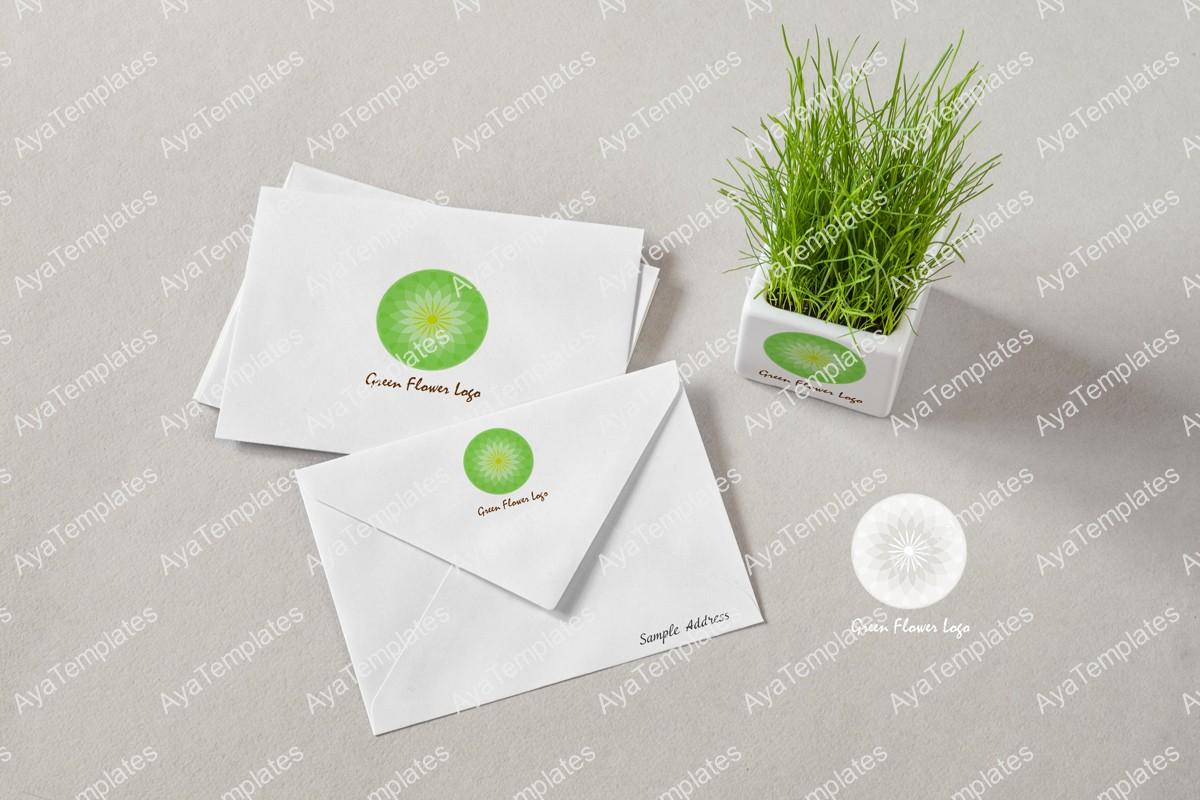 green-flower-logo-design-brand-identity-mockup-2-ayatemplates