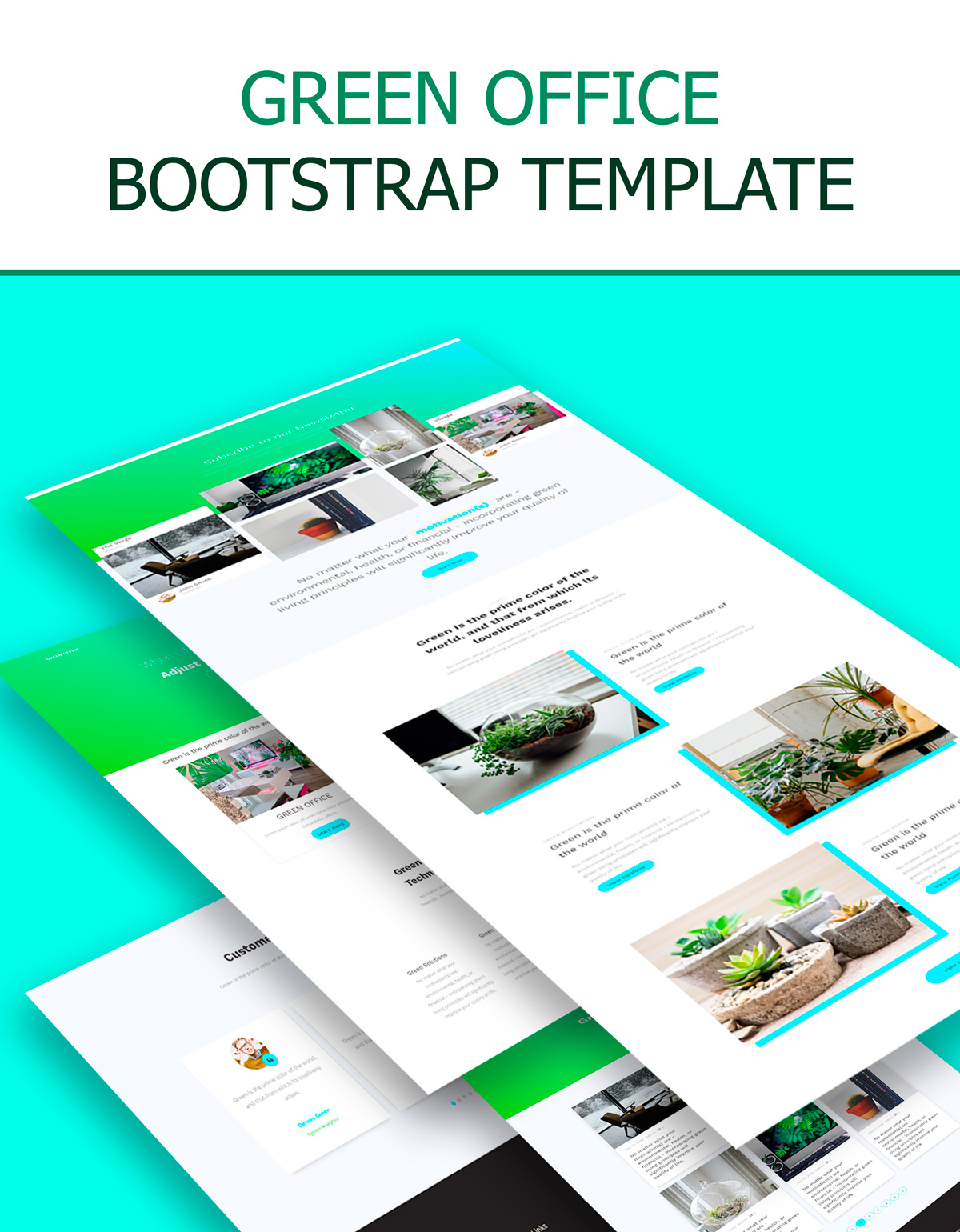 green-office-bootstrap-template