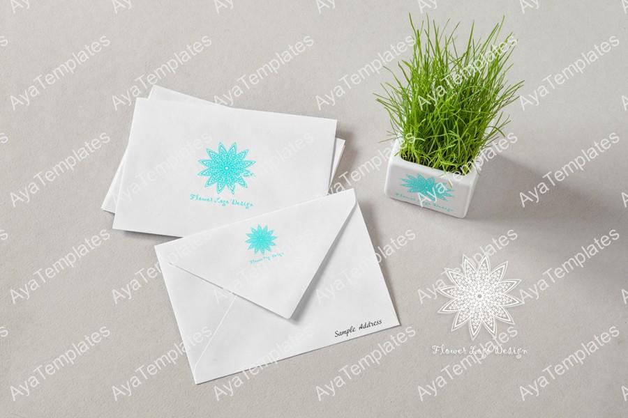 logo-design-flower-mockup-branding-ayatemplates