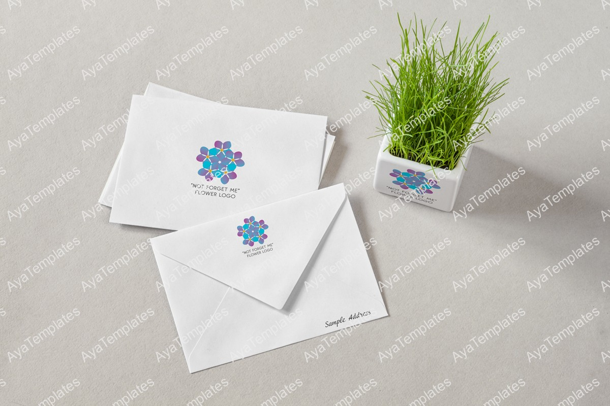 not-forget-me-flower-logo-design-branding-mockup-ayatemplates