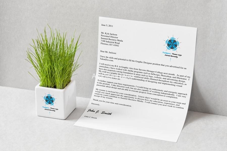 pentagram-flower-logo-design-branding-mockup-ayatemplates
